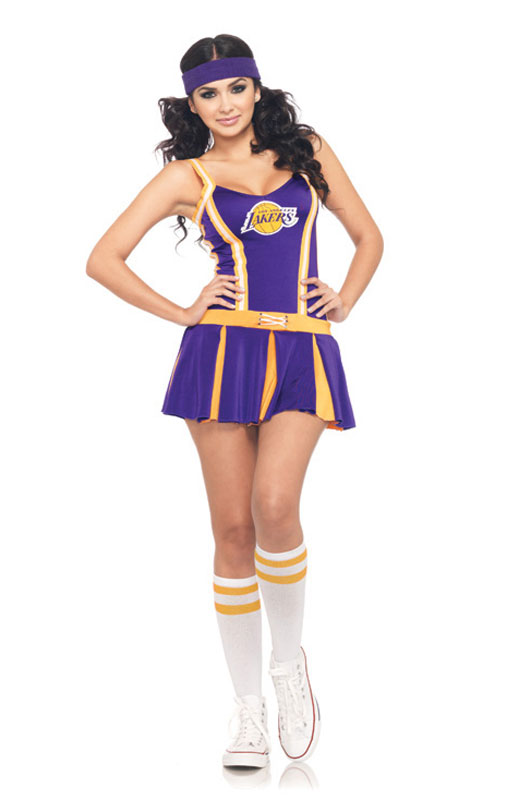 Lakers Cheerleader 大人用コスチューム ハロウィン 面白い Cheerleader コスプレ 衣装 仮装 大人用 面白い イベント スポーツ 学園祭 文化祭 学祭 大学祭 高校 イベント, redycoco:b254afd8 --- officewill.xsrv.jp