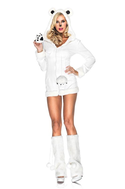 【ポイント最大29倍●お買い物マラソン限定!エントリー】Snowy Polar Bear 大人用コスチューム ハロウィン コスプレ 衣装 仮装 大人用 面白い 2012年 学園祭 文化祭 学祭 大学祭 高校 イベント