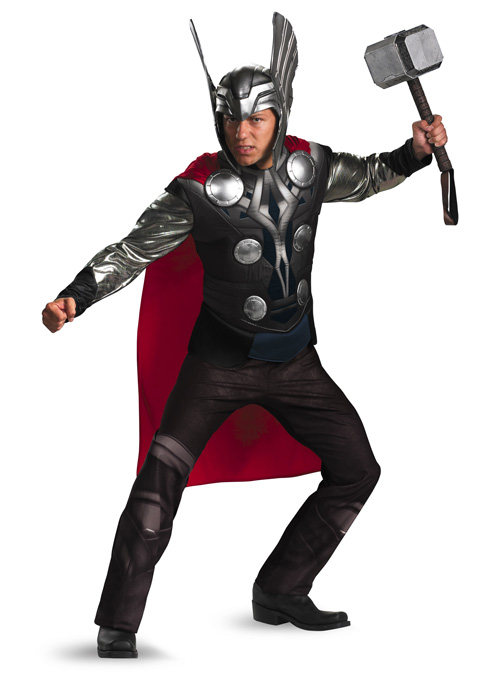 Marvel Thor Movie Thor Prestige Adult 学園祭 コスチューム 衣装 ハロウィン コスプレ 衣装 仮装 大人用 面白い 学園祭 文化祭 学祭 大学祭 高校 イベント, 餃子のばんごはんや:43f3a94d --- officewill.xsrv.jp