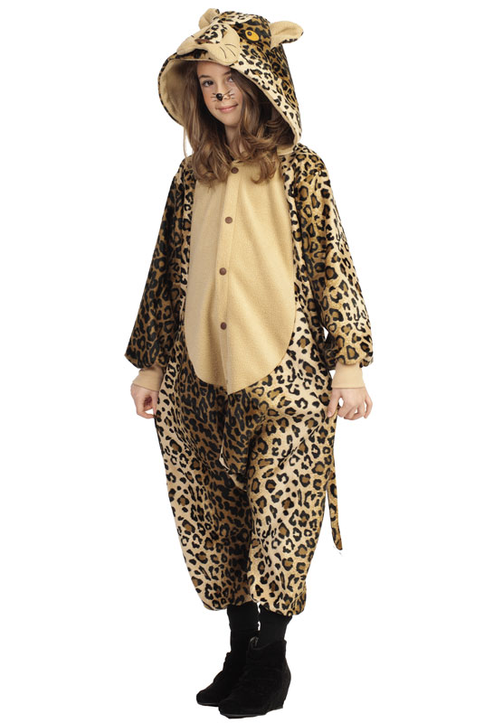 Lux the Leopard 子供用コスチューム (Medium) コスチューム ハロウィン コスプレ 衣装 仮装 男の子 女の子 子供 小学生 かわいい 面白い 動物 アニマル 学園祭 文化祭 学祭 大学祭 高校 イベント