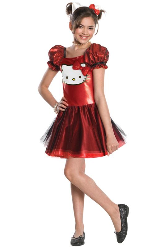 ハローキティー Hello Kitty Red Sequin チュチュスカート Dress 子供用コスチューム クリスマス ハロウィン コスプレ 衣装 仮装 男の子 女の子 子供 小学生 かわいい 面白い 動物 アニマル 学園祭 文化祭 学祭 大学祭 高校 イベント