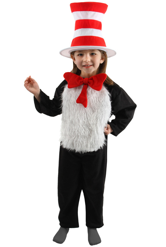 【ポイント最大29倍●お買い物マラソン限定!エントリー】Dr Seuss Cat in the Hat デラックス 子供用コスチューム (S) コスチューム ハロウィン コスプレ 衣装 仮装 男の子 女の子 子供 小学生 かわいい 面白い 動物 アニマル 学園祭 文化祭 学祭 大学祭 高校 イベント
