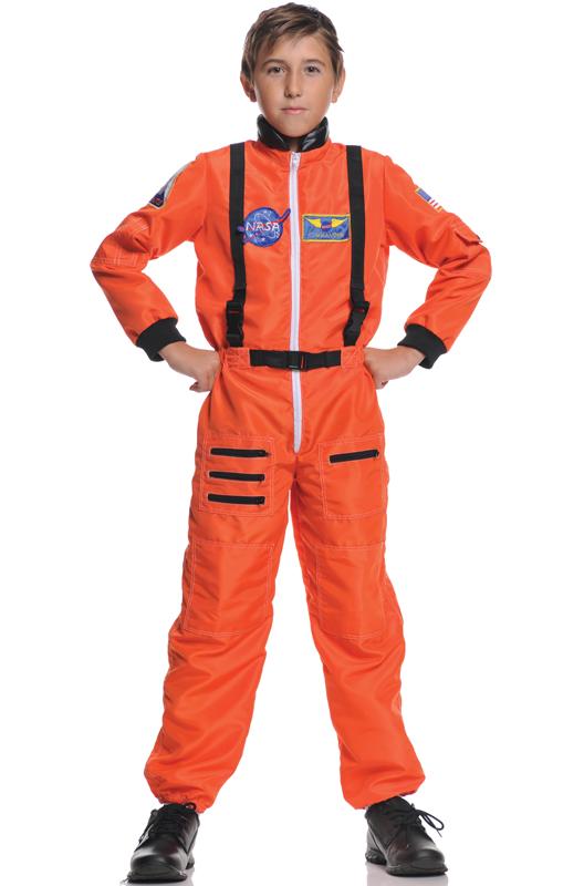 Astronaut Explorer 子供用コスチューム (Orange) コスチューム クリスマス ハロウィン コスプレ 衣装 仮装 男の子 女の子 子供 小学生 かわいい 面白い 学園祭 文化祭 学祭 大学祭 高校 イベント