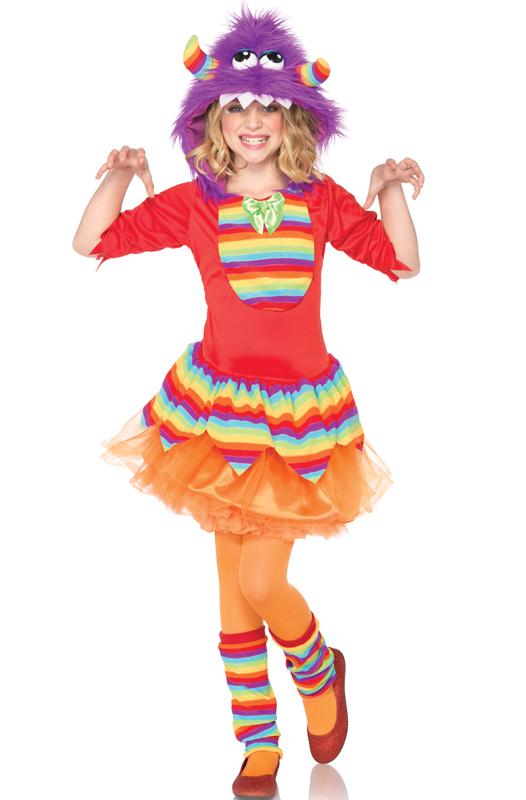 【ポイント最大29倍●お買い物マラソン限定!エントリー】Rainbow Monster 子供用コスチューム ハロウィン コスプレ 衣装 仮装 男の子 女の子 子供 小学生 かわいい 面白い おとぎ話 学園祭 文化祭 学祭 大学祭 高校 イベント