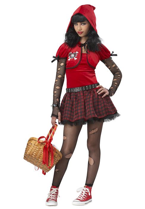 Little Rad Riding Hood Tween コスチューム クリスマス ハロウィン コスプレ 衣装 仮装 男の子 女の子 子供 小学生 かわいい 面白い おとぎ話 学園祭 文化祭 学祭 大学祭 高校 イベント