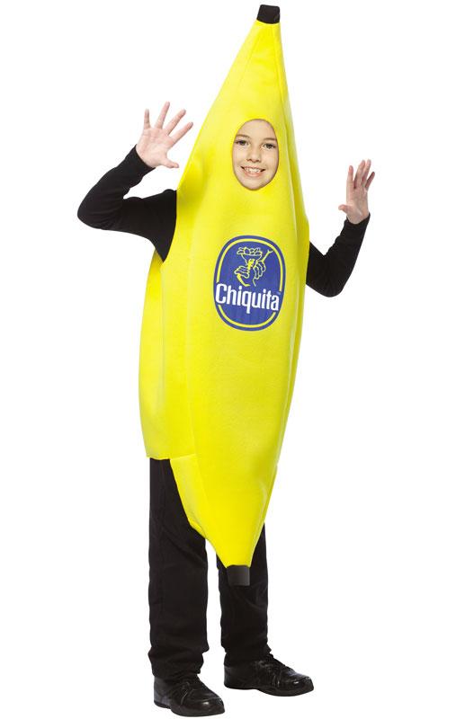 Chiquita Banana 子供用コスチューム (7-10) コスチューム クリスマス ハロウィン コスプレ 衣装 仮装 男の子 女の子 子供 小学生 かわいい 面白い 食べ物 かぼちゃ 飲み物 学園祭 文化祭 学祭 大学祭 高校 イベント