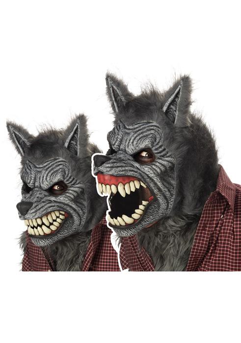 【マラソン全品P5倍】Werewolf Ani-Motion Mask コスチューム クリスマス ハロウィン コスプレ 衣装 仮装 男の子 女の子 子供 小学生 かわいい 面白い ホラー 怖い 学園祭 文化祭 学祭 大学祭 高校 イベント
