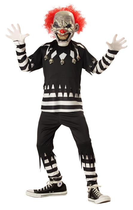 【ポイント最大29倍●お買い物マラソン限定!エントリー】Psycho Clown 子供用コスチューム ハロウィン コスプレ 衣装 仮装 男の子 女の子 子供 小学生 かわいい 面白い ホラー 怖い 学園祭 文化祭 学祭 大学祭 高校 イベント