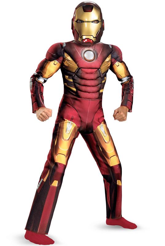 映画 アベンジャーズ マーベルヒーローズ Marvel Avengers Movie Iron Man Mark VII Muscle Light-Up 子供用コスチューム ハロウィン コスプレ 衣装 仮装 男の子 女の子 子供 小学生 かわいい 面白い ヒーロー 学園祭 文化祭 学祭 大学祭 高校 イベント