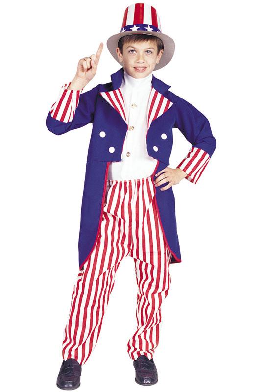 Uncle Sam 子供用コスチューム ハロウィン コスプレ 衣装 仮装 男の子 女の子 子供 小学生 かわいい 面白い 2012年 学園祭 文化祭 学祭 大学祭 高校 イベント