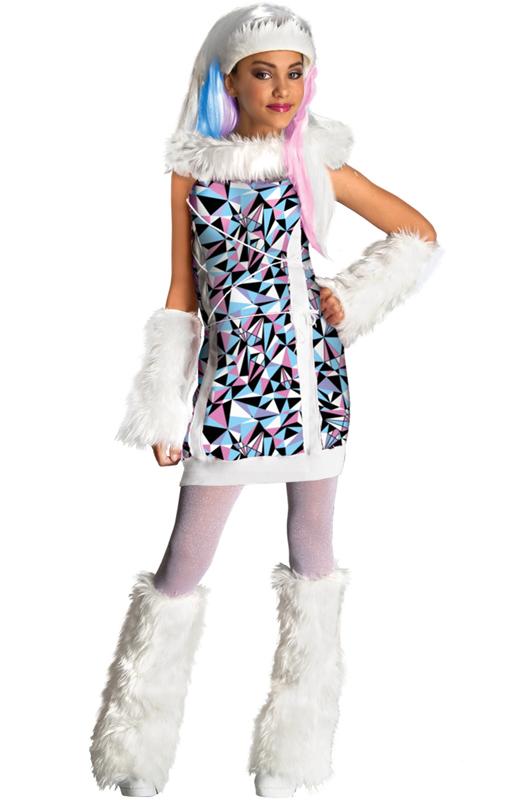 Monster High モンスターハイ Abbey Bominable 子供用コスチューム クリスマス ハロウィン コスプレ 衣装 仮装 男の子 女の子 子供 小学生 かわいい 面白い 2013年 新作 学園祭 文化祭 学祭 大学祭 高校 イベント