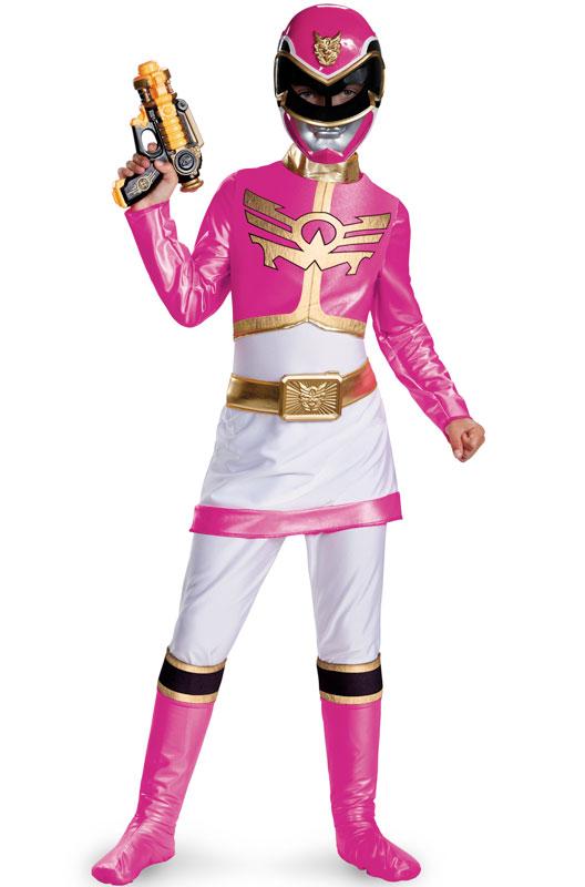 パワーレンジャー Megaforce Pink Ranger デラックス 子供用コスチューム クリスマス ハロウィン コスプレ 衣装 仮装 男の子 女の子 子供 小学生 かわいい 面白い 2013年 新作 学園祭 文化祭 学祭 大学祭 高校 イベント