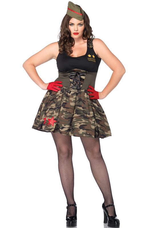 Combat Cutie コスチューム クリスマス ハロウィン コスプレ 衣装 仮装 大人用 面白い 大きいサイズ ビッグサイズ 学園祭 文化祭 学祭 大学祭 高校 イベント
