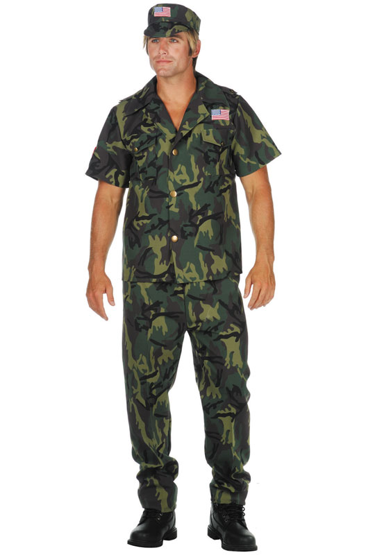 Camo Camouflage コスチューム クリスマス ハロウィン コスプレ 衣装 仮装 大人用 面白い 大きいサイズ ビッグサイズ 学園祭 文化祭 学祭 大学祭 高校 イベント