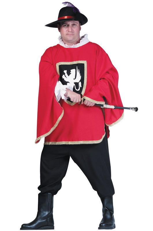 Musketeer コスチューム クリスマス ハロウィン コスプレ 衣装 仮装 大人用 面白い 大きいサイズ ビッグサイズ キャラクター 学園祭 文化祭 学祭 大学祭 高校 イベント