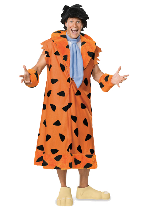 【ポイント最大29倍●お買い物マラソン限定!エントリー】The Flintstones Fred Flintstone コスチューム ハロウィン コスプレ 衣装 仮装 大人用 面白い 大きいサイズ ビッグサイズ キャラクター 学園祭 文化祭 学祭 大学祭 高校 イベント