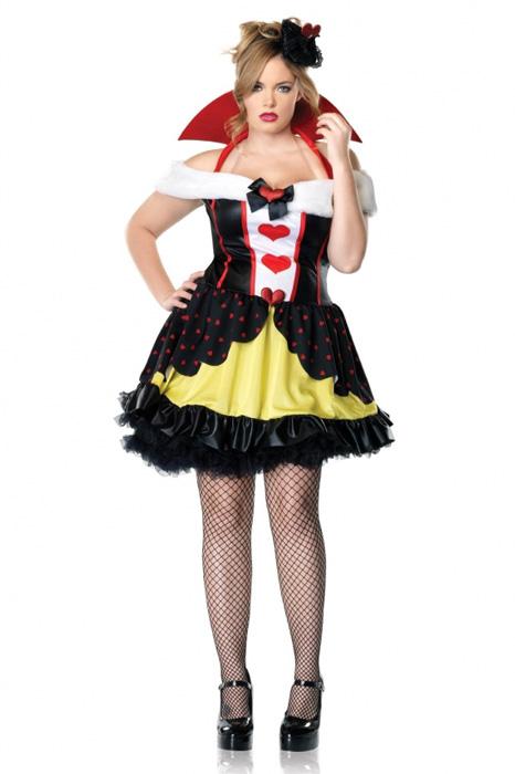 QueenofHeartsPlusSizeCostume/コスチューム/ハロウィン/コスプレ/衣装/仮装/大人用/面白い/大きいサイズ/ビッグサイズ/キャラクター