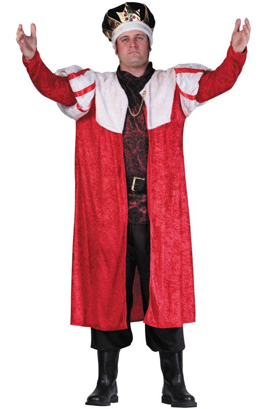 【ポイント最大29倍●お買い物マラソン限定!エントリー】King's Robe コスチューム ハロウィン コスプレ 衣装 仮装 大人用 面白い 大きいサイズ ビッグサイズ おとぎ話 学園祭 文化祭 学祭 大学祭 高校 イベント
