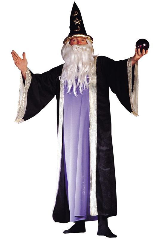 デラックス 魔法使い Wizard コスチューム クリスマス ハロウィン コスプレ 衣装 仮装 大人用 面白い 大きいサイズ ビッグサイズ おとぎ話 学園祭 文化祭 学祭 大学祭 高校 イベント