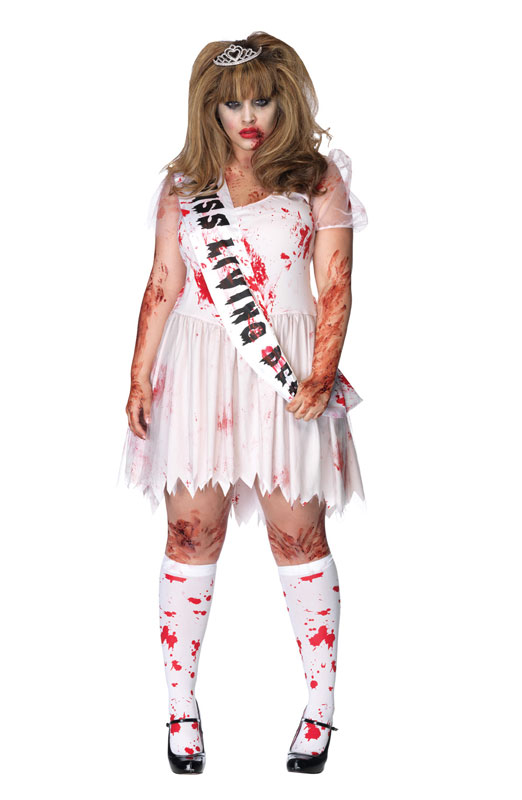 Putrid Prom Queen コスチューム クリスマス ハロウィン コスプレ 衣装 仮装 大人用 面白い 大きいサイズ ビッグサイズ ホラー 怖い 学園祭 文化祭 学祭 大学祭 高校 イベント