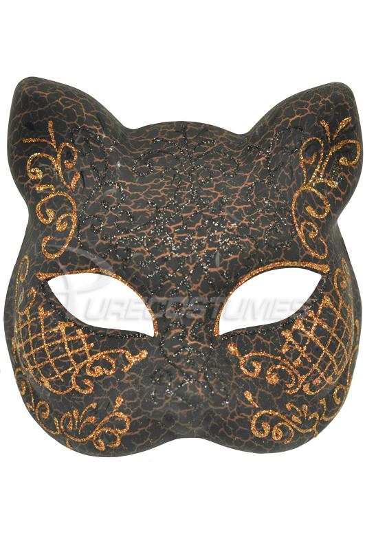 【ポイント最大29倍●お買い物マラソン限定!エントリー】Midnight Sphinx Mask (Black Copper) コスチューム ハロウィン コスプレ 衣装 仮装 大人用 面白い セクシー 猫 キャット 学園祭 文化祭 学祭 大学祭 高校 イベント