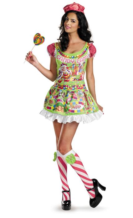 【全品P5倍】Candyland Sassy デラックス 大人用コスチューム クリスマス ハロウィン コスプレ 衣装 仮装 面白い 大人用 女性用 学園祭 文化祭 学祭 大学祭 高校 イベント