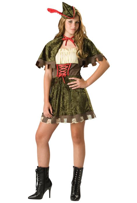 Robin Hood ティーンサイズ コスチューム ハロウィン コスプレ 衣装 仮装 大人用 面白い おとぎ話 学園祭 文化祭 学祭 大学祭 高校 イベント