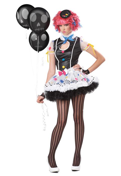 【ポイント最大29倍●お買い物マラソン限定!エントリー】Sassie the Clown ティーンサイズ コスチューム ハロウィン コスプレ 衣装 仮装 大人用 面白い 学園祭 文化祭 学祭 大学祭 高校 イベント