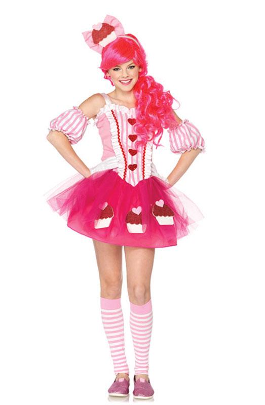 Cupcake Sweetie ティーンサイズ コスチューム ハロウィン コスプレ 衣装 仮装 大人用 面白い 2012年 学園祭 文化祭 学祭 大学祭 高校 イベント