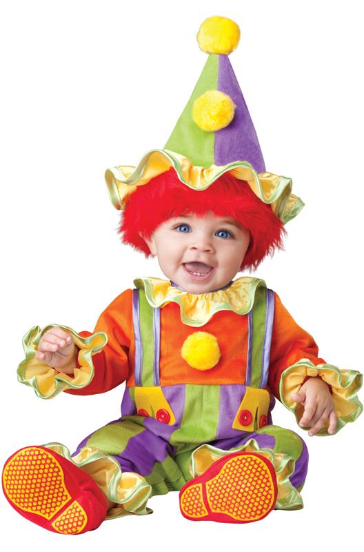 ピエロ サーカス 大道芸 Cuddly Clown 幼児,子供用コスチューム ハロウィン コスプレ 衣装 仮装 幼児 赤ちゃん 子供 0歳 1歳 かわいい 面白い 学園祭 文化祭 学祭 大学祭 高校 イベント ベビー服 出産祝い 誕生日 お祝い