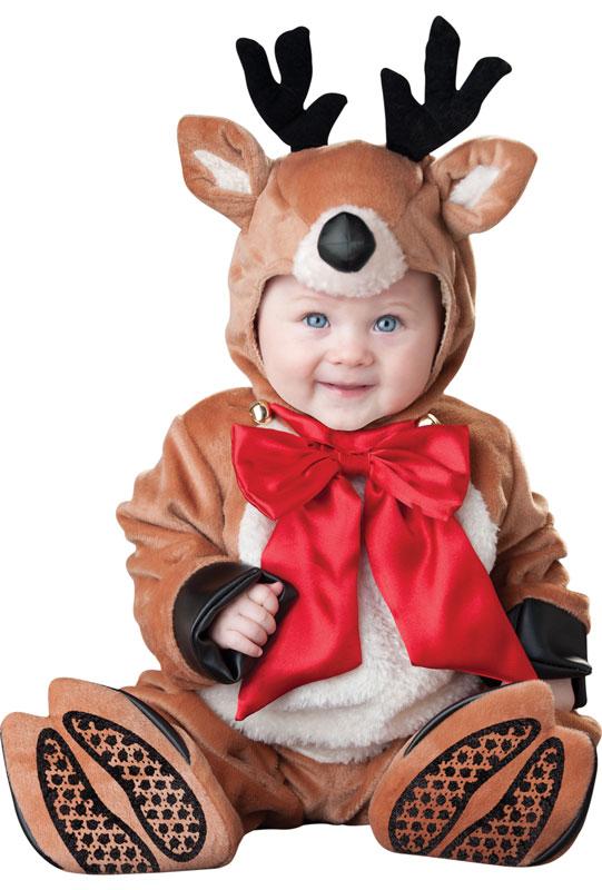 Reindeer Rascal 幼児,子供用コスチューム クリスマス ハロウィン コスプレ 衣装 仮装 幼児 赤ちゃん 子供 0歳 1歳 かわいい 面白い 学園祭 文化祭 学祭 大学祭 高校 イベント ベビー服 出産祝い 誕生日 お祝い