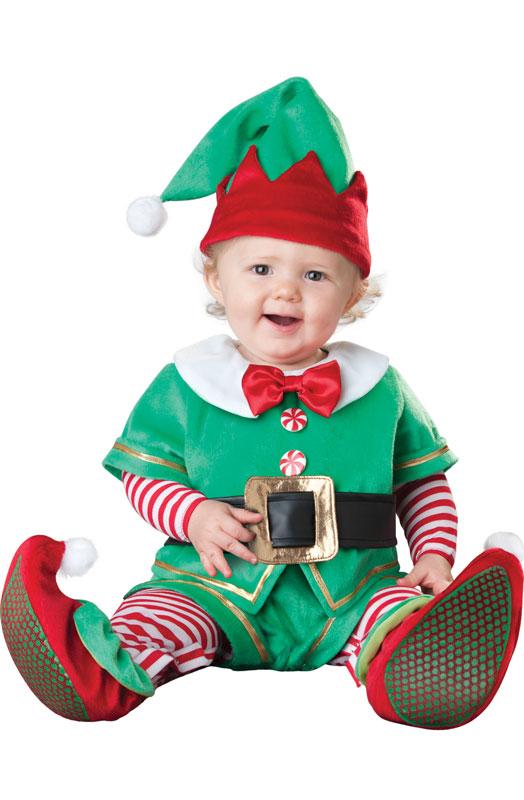 子供用サンタのコスプレ サンタクロース コスチューム サンタ 衣装 クリスマス コスチューム サンタ Lil' Elf 幼児,子供用コスチューム ハロウィン コスプレ 衣装 仮装 幼児 赤ちゃん 子供 0歳 1歳 かわいい 面白い ベビー服 出産祝い 誕生日 お祝い
