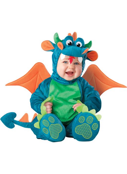 Dinky Dragon 幼児,子供用コスチューム ハロウィン コスプレ 衣装 仮装 幼児 赤ちゃん 子供 0歳 1歳 かわいい 面白い 学園祭 文化祭 学祭 大学祭 高校 イベント ベビー服 出産祝い 誕生日 お祝い