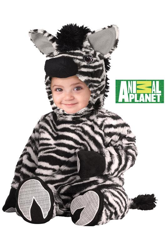 アニマルプラネット Zebra 幼児,子供用コスチューム コスチューム ハロウィン コスプレ 衣装 仮装 幼児 赤ちゃん 子供 0歳 1歳 かわいい 面白い 学園祭 文化祭 学祭 大学祭 高校 イベント ベビー服 出産祝い 誕生日 お祝い
