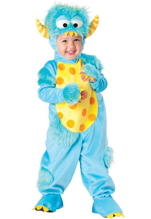 Lil' Monster 幼児,子供用コスチューム ハロウィン コスプレ 衣装 仮装 幼児 赤ちゃん 子供 0歳 1歳 かわいい 面白い 動物 アニマル 学園祭 文化祭 学祭 大学祭 高校 イベント ベビー服 出産祝い 誕生日 お祝い