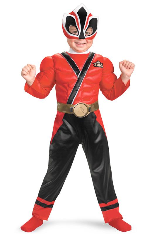 パワーレンジャー Samurai Red Ranger Samurai Muscle 幼児,子供用コスチューム ハロウィン コスプレ 衣装 仮装 幼児 赤ちゃん 子供 0歳 1歳 かわいい 面白い 2012年 学園祭 文化祭 学祭 大学祭 高校 イベント ベビー服 出産祝い 誕生日 お祝い