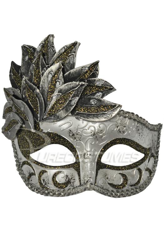 【全品P5倍】A Midsummer's Garden Mask (Silver) コスチューム クリスマス ハロウィン コスプレ 衣装 仮装 面白い ウィッグ かつら マスク 仮面 学園祭 文化祭 学祭 大学祭 高校 イベント