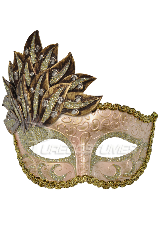 A Midsummer's Garden Mask (Maroon) コスチューム クリスマス ハロウィン コスプレ 衣装 仮装 面白い ウィッグ かつら マスク 仮面 学園祭 文化祭 学祭 大学祭 高校 イベント