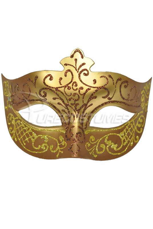 Royal Countess ベネチアンマスク (Brown) コスチューム クリスマス ハロウィン コスプレ 衣装 仮装 面白い ウィッグ かつら マスク 仮面 学園祭 文化祭 学祭 大学祭 高校 イベント