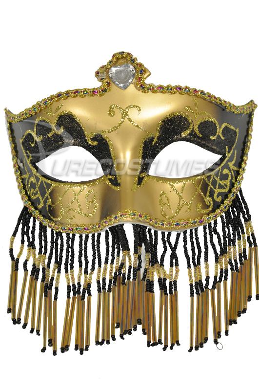 Soiree Spectaculaire Mask (Black Gold) コスチューム クリスマス ハロウィン コスプレ 衣装 仮装 面白い ウィッグ かつら マスク 仮面 学園祭 文化祭 学祭 大学祭 高校 イベント