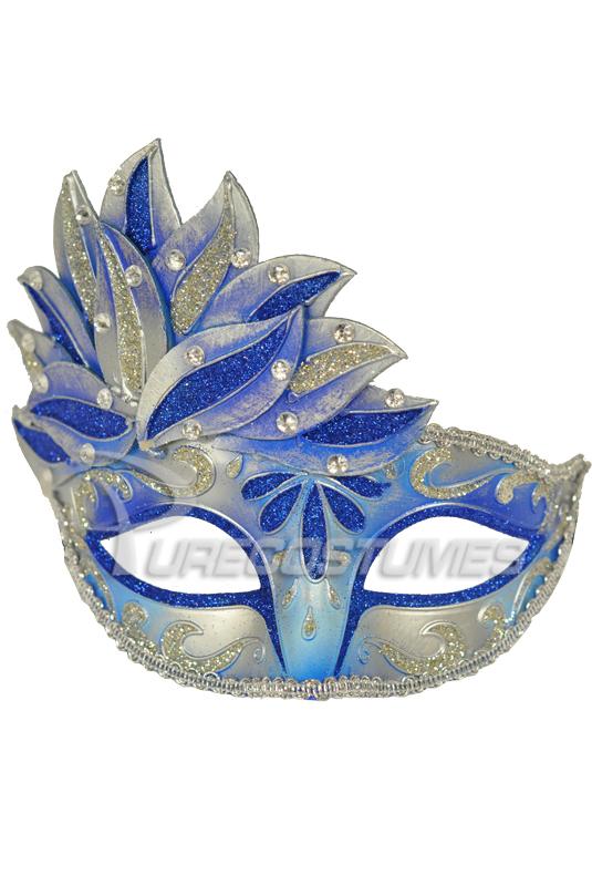 Midsummer's Magic マスク (Blue) コスチューム クリスマス ハロウィン コスプレ 衣装 仮装 面白い ウィッグ かつら マスク 仮面 学園祭 文化祭 学祭 大学祭 高校 イベント