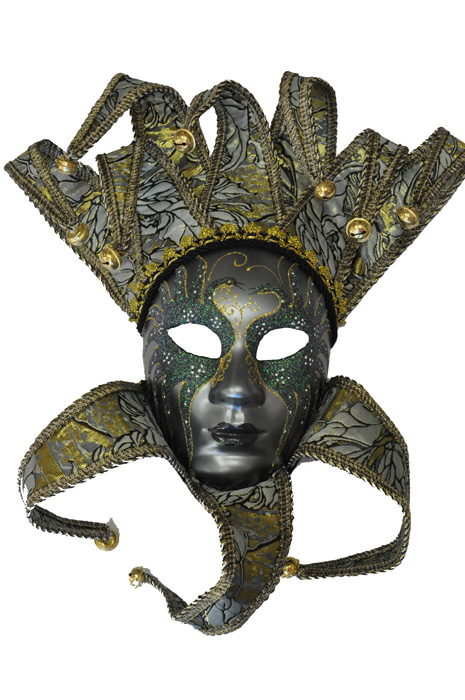 Ice 女王 Jester Mask コスチューム ハロウィン コスプレ 衣装 仮装 面白い ウィッグ かつら マスク 仮面 学園祭 文化祭 学祭 大学祭 高校 イベント