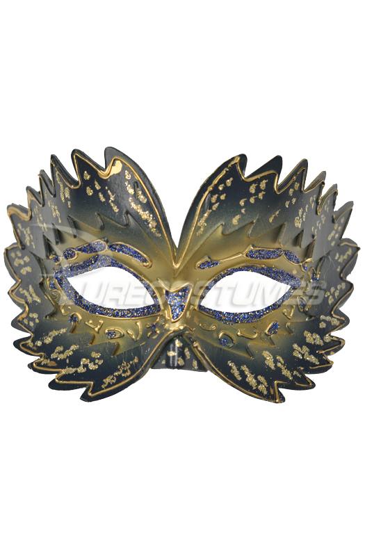 Colombina Fairy Mask (Blue) コスチューム ハロウィン コスプレ 衣装 仮装 面白い ウィッグ かつら マスク 仮面 学園祭 文化祭 学祭 大学祭 高校 イベント