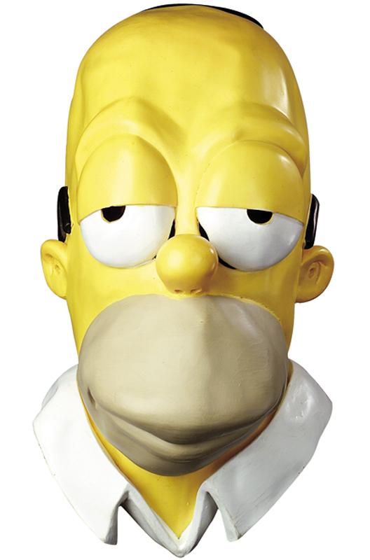【ポイント最大29倍●お買い物マラソン限定!エントリー】The Simpsons Homer Vinyl Oversized Adult Mask コスチューム ハロウィン コスプレ 衣装 仮装 面白い ウィッグ かつら マスク 仮面 学園祭 文化祭 学祭 大学祭 高校 イベント
