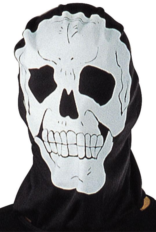 【ポイント最大29倍●お買い物マラソン限定!エントリー】Skull Hood Mask Accessory コスチューム ハロウィン コスプレ 衣装 仮装 面白い ウィッグ かつら マスク 仮面 学園祭 文化祭 学祭 大学祭 高校 イベント