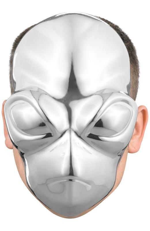 【ポイント最大29倍●お買い物マラソン限定!エントリー】Alien Chrome Mask コスチューム ハロウィン コスプレ 衣装 仮装 面白い ウィッグ かつら マスク 仮面 学園祭 文化祭 学祭 大学祭 高校 イベント