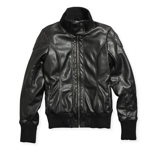 Fox Kyla Pleather Lady Jacket バイク用品 メンズ バイクウェア モトクロス レザージャケット 革ジャン ライダースジャケット