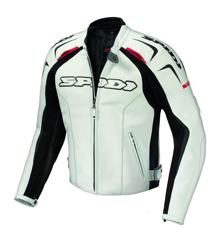 Spidi スピーディー Track Leather Jacket バイク用品 メンズ バイクウェア モトクロス レザージャケット 革ジャン ライダースジャケット