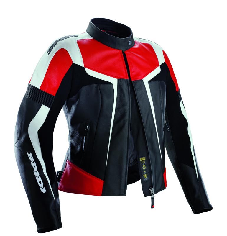 Spidi スピーディー Gara Leather Lady Women Leather Jacket バイク用品 メンズ バイクウェア モトクロス レザージャケット 革ジャン ライダースジャケット