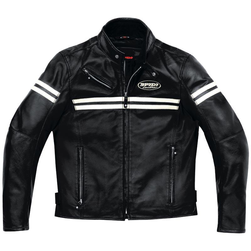 Spidi スピーディー JK Leather Jacket バイク用品 メンズ バイクウェア モトクロス レザージャケット 革ジャン ライダースジャケット